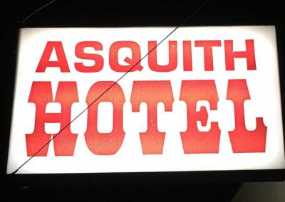 ASquithHotelSign
